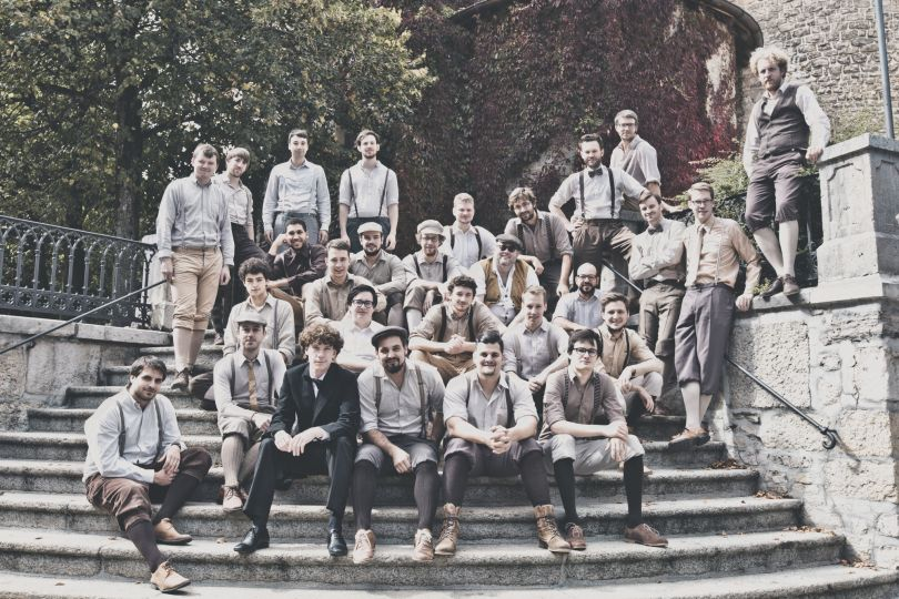 Swiss men's choir