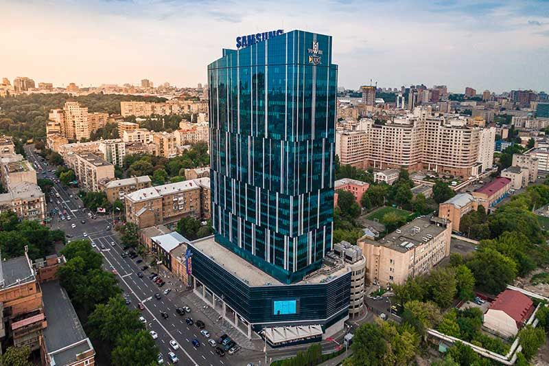 101 Tower Business Center in Kiev