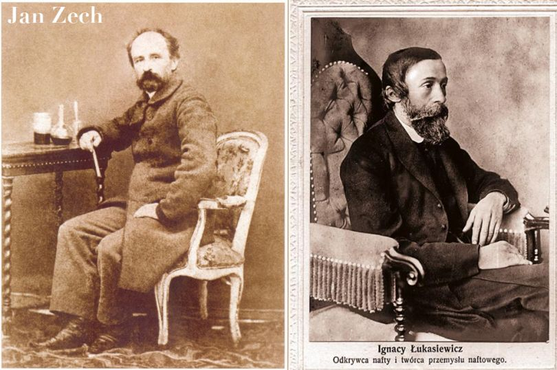 Jan Zech and Ignacy Lukasiewicz