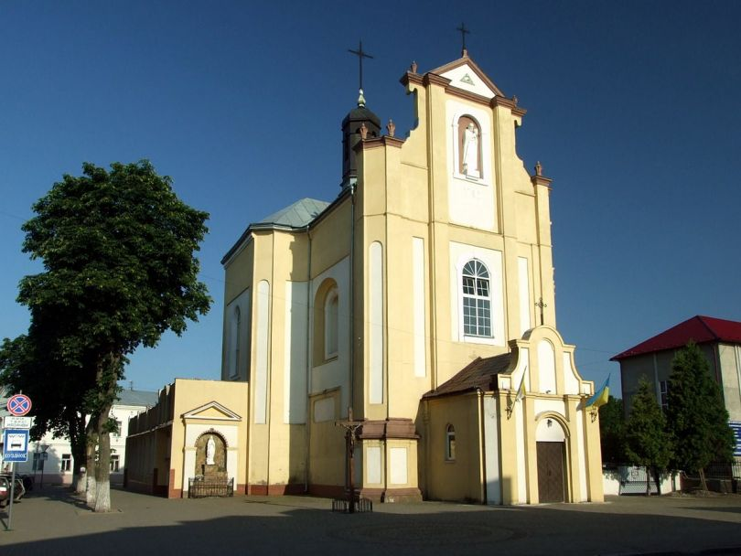 St. Josaphat Church (former the Cathedral of the Assumption of Mary) in Kolomyia