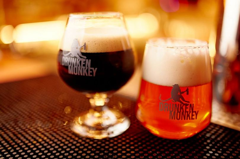Drunken Monkey craft beer