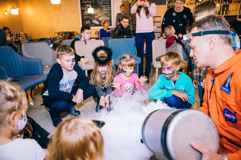 Kid's Halloween celebration at Pepenero in Kyiv