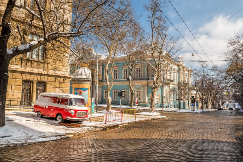 Winter in Odesa