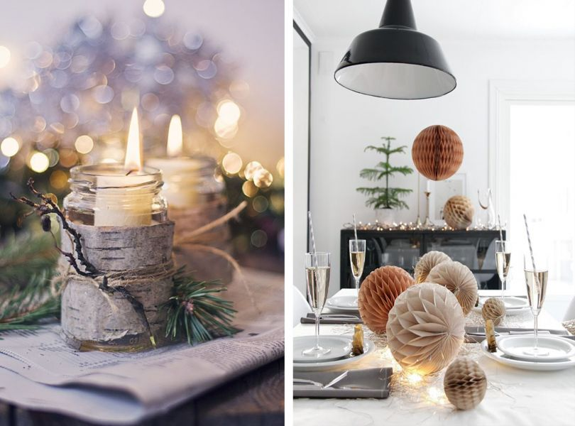 Hygge New Year's Eve table decor