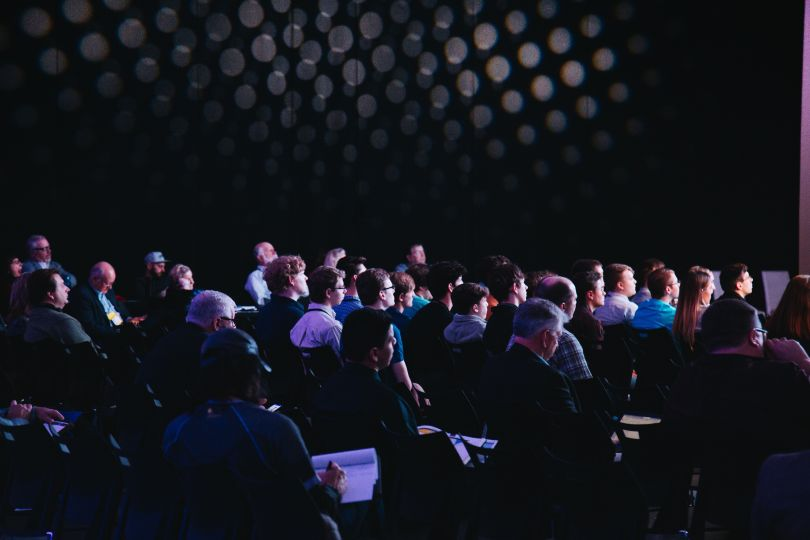 Audience at the conference