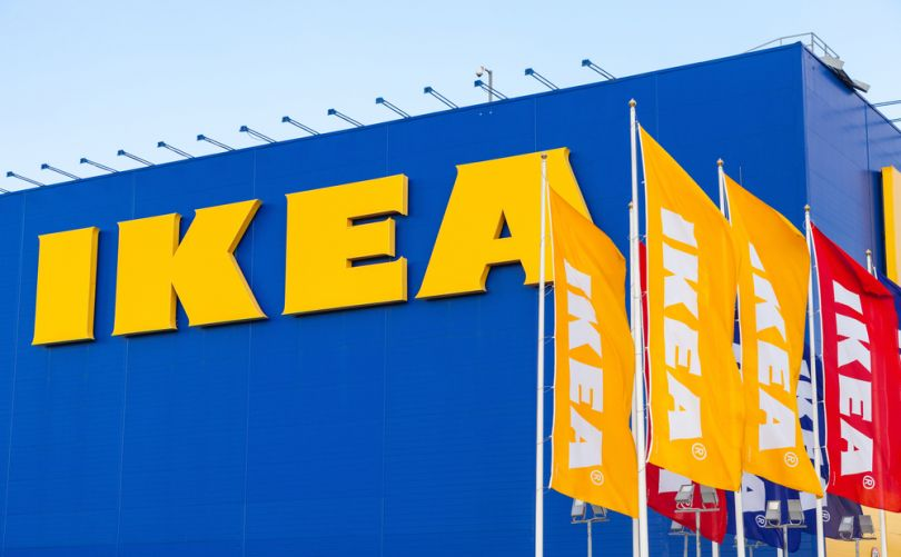 IKEA shop and banners