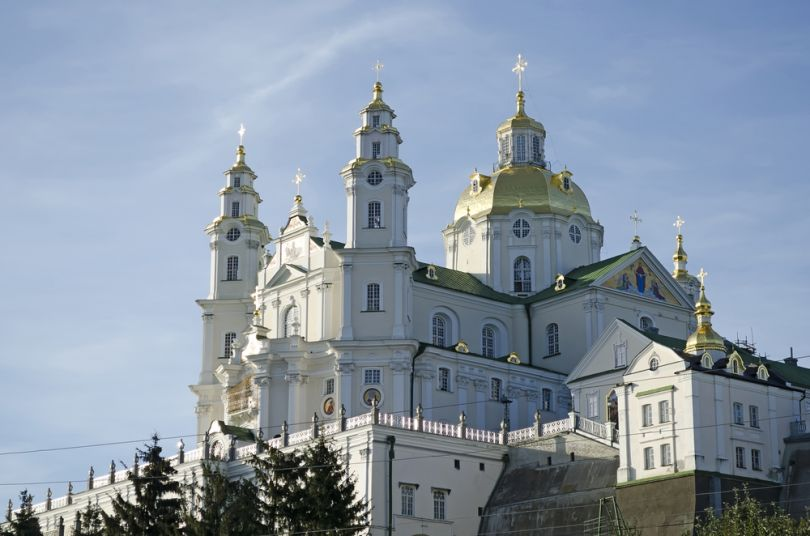 Pochaiv Lavra in Ukraine