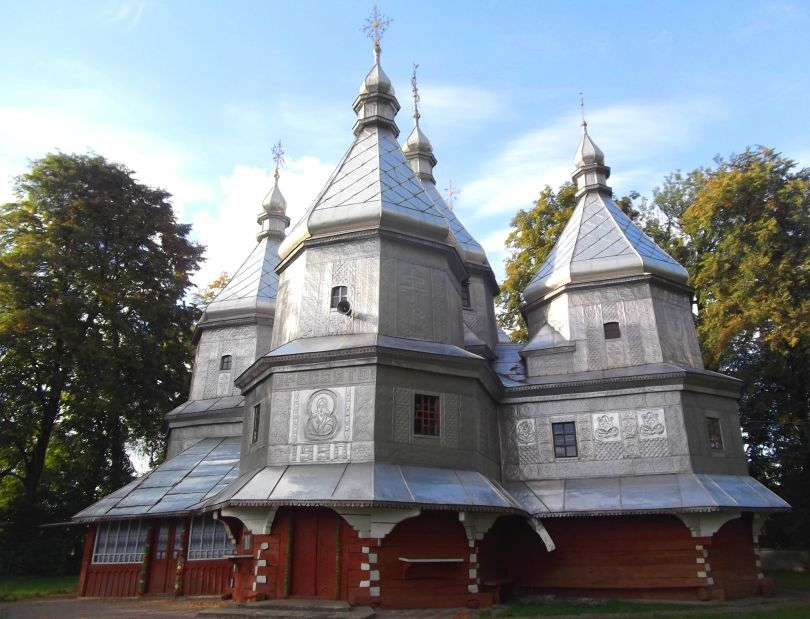 The Сhurch of the Nativity of the Blessed Virgin Mary, Nyzhniy Verbizh
