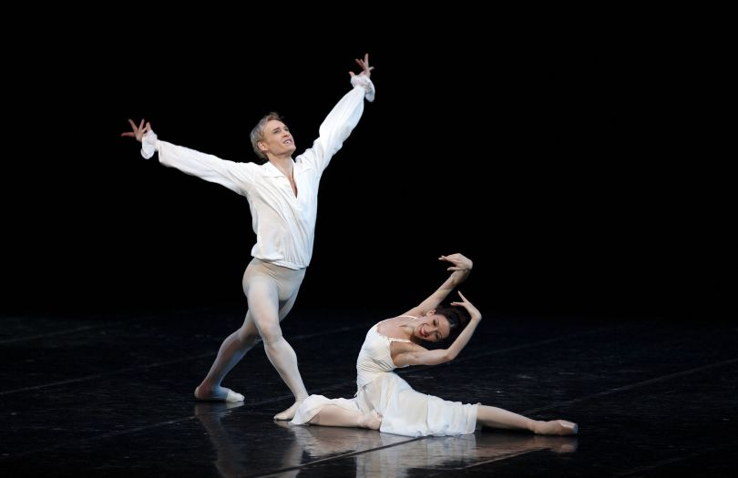 male and female dancers performing ballet